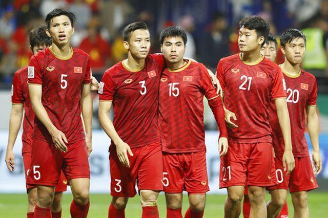 Đội tuyển Việt Nam tụt xuống vị trí 97 trên BXH FIFA. Ảnh: TTT