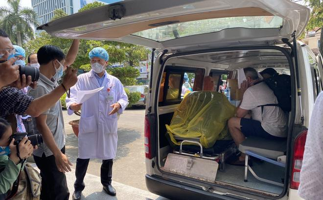 Bệnh nhân 22 tại thời điểm xuất viện
