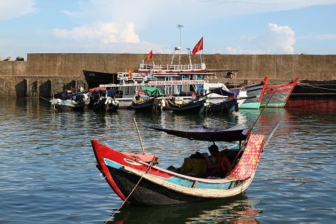 Đảo Cồn Cỏ (Ảnh:Trịnh Hoàng Tân)