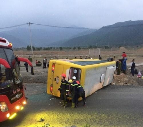 Hiện trường vụ tai nạn đau lòng ngày 27 Tết.
