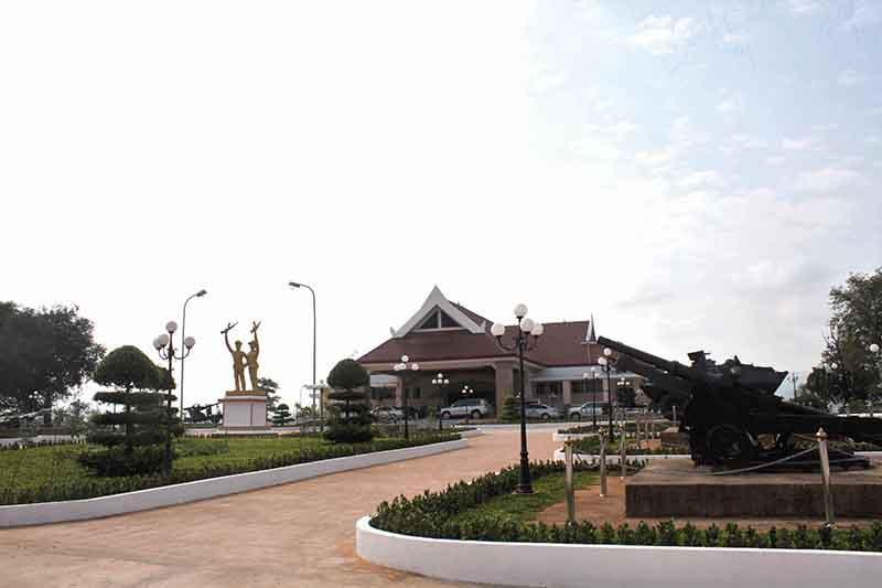 Bảo tàng Liên minh chiến đấu Lào - Việt Nam ở Bản Đông, Savannakhet, Lào