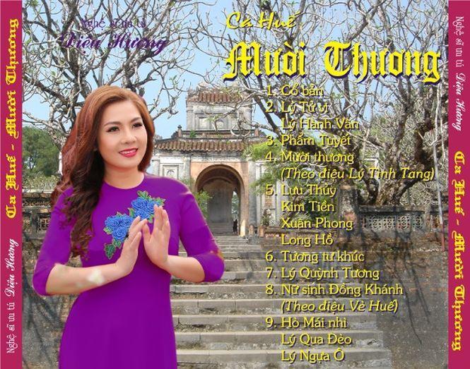 Album nhạc cổ lời cổ mang đậm âm sắc Huế của Diệu Hương