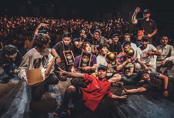 Thái Sơn tại giải beatbox châu Á.