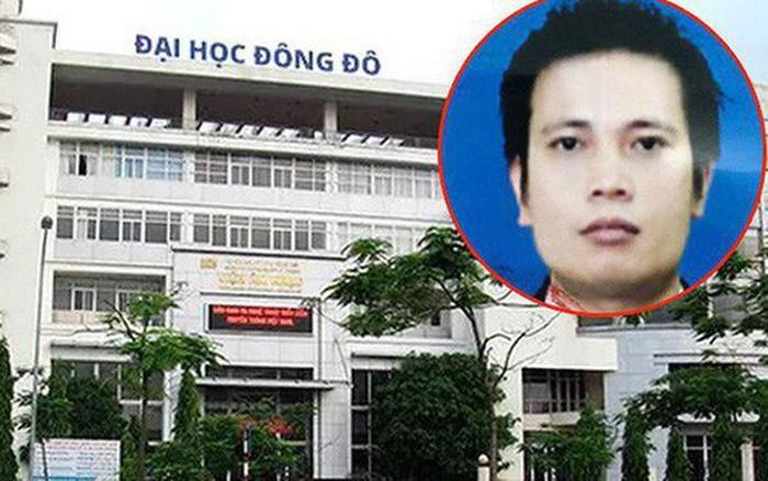 Trần Khắc Hùng (ảnh bé) bị truy nã về tội danh Giả mạo trong công tác