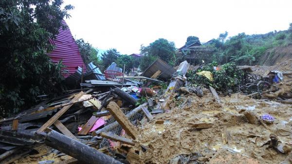 Theo thống kê chưa đầy đủ, tới ngày 17/10, huyện Phù Yên, tỉnh Sơn La đã thiệt hại hơn 600 tỷ đồng do mưa lũ.