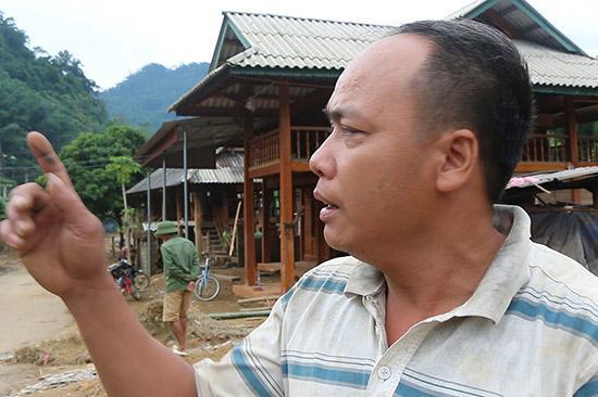 Anh Hà Văn Bao - Phó Chỉ huy trưởngBan chỉ huy quân sự xã Mường Bang, huyện Phù Yên.