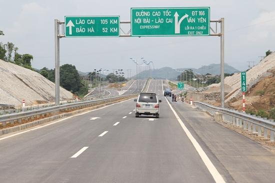 Ảnh minh họa: Đường cao tốc Nội Bài - Lào Cai. Nguồn: mt.gov.vn