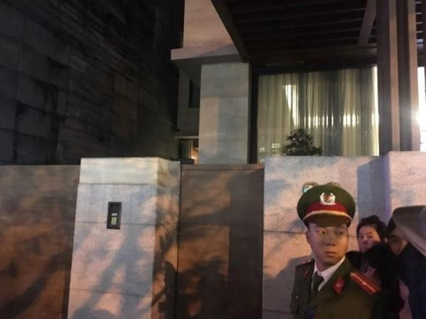 Cơ quan An ninh điều tra tiến hành khám xét nhà ông Vũ