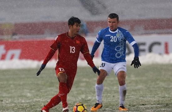 U23 Uzbekistan dẫu sao vẫn là những người nhỉnh hơn về thể lực lẫn chuyên môn.