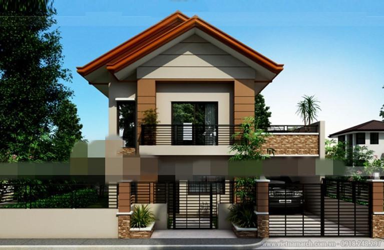 Lối vào nhà nổi bật với thiết kế thoáng đãng, tạo không gian mở. Ảnh: Vietnamarch.