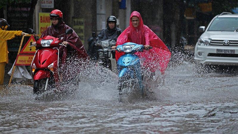 Bắc Bộ sẽ có mưa rất to do ảnh hưởng của siêu bão Mangkhut. Ảnh: Lê Anh Dũng