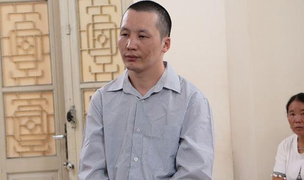 Bị cáo Giàng A Dong tại tòa.