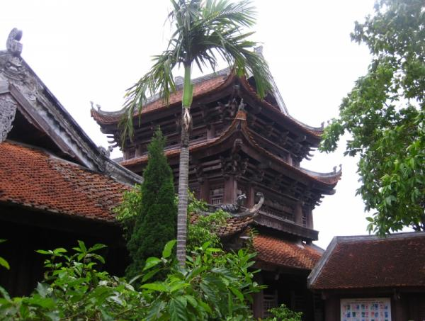 Chùa Keo- Ngôi chùa cổ độc đáo nhất Việt Nam: không có một chiếc đinh nào.