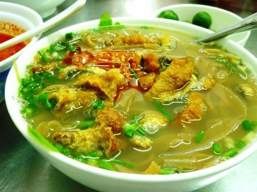 Món canh cá hấp dẫn, thơm ngon của Thái Bình.