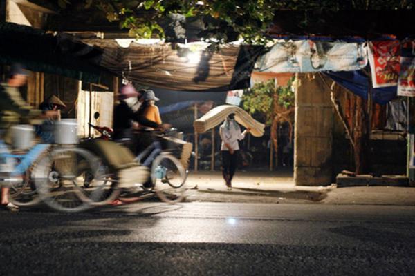 Chợ ma xã An Lễ (Quỳnh Phụ, Thái Bình) ảnh: Infonet