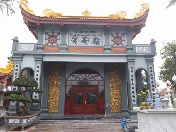 Giảng đường trong quần thể chùa Phúc An
