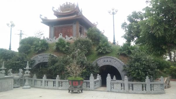 Chùa Phúc An được người dân ví như ngôi chùa Bái Đính thu nhỏ