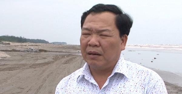 Ông Tô Mạnh Biên - Phó trưởng Ban QLDL sinh thái cồn Vành