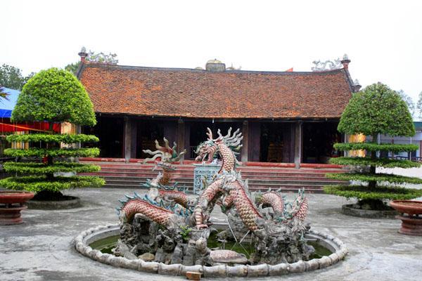 Chính điện của Chùa Phúc Minh