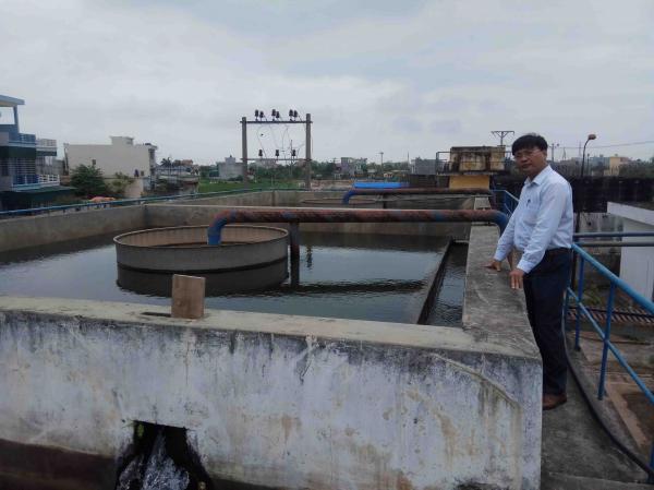 Hệ thông xử lý nước xuống cấp, không đảm bảo chất lượng