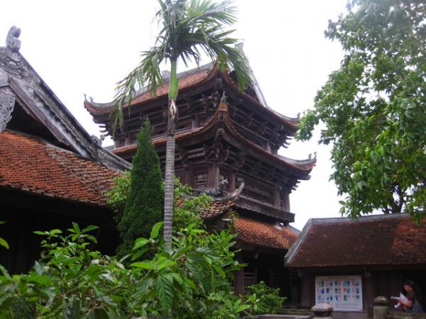 Chùa Keo - ngôi cổ tự nổi tiếng bậc nhất Việt Nam. Ảnh: Internet