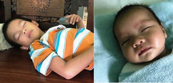 Bé trai 6 tuổi cùng em trai 3 tháng tuổi bị mẹ bỏ rơi ở Sài Gòn vào sáng nay (16/6)
