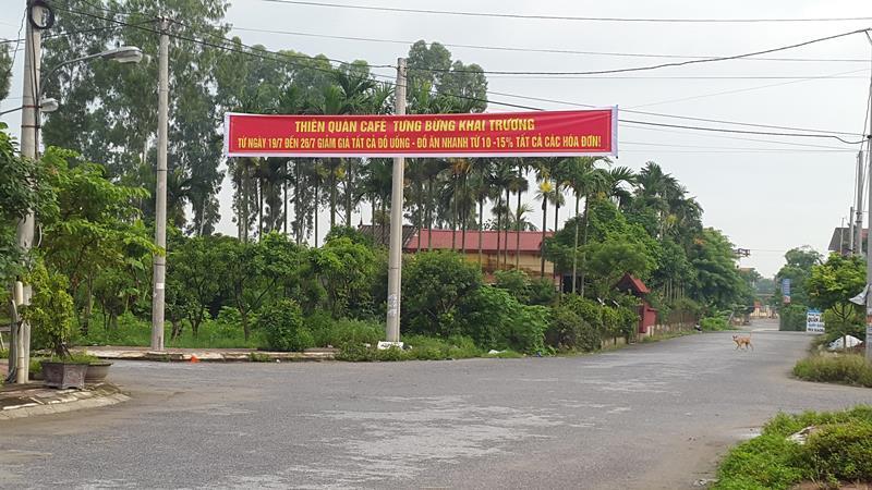 Ở nơi thanh thiên bạch nhật này, chả hiểu lãnh đạo huyện Hưng Hà có biết hay không.