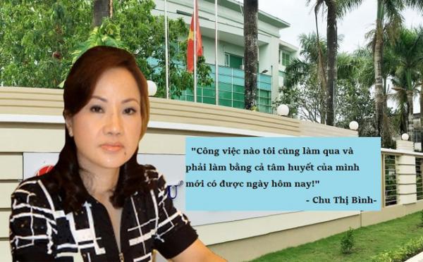Bà Chu Thị Bình từng là nữ doanh nhân giàu nhất sàn chứng khoán Việt. (Ảnh: Trí thức trẻ)
