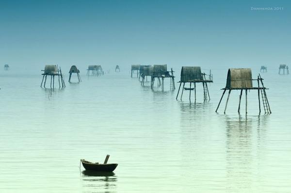 Cảnh biển còn khá hoang sơ, an yên (Ảnh: mytour.vn)