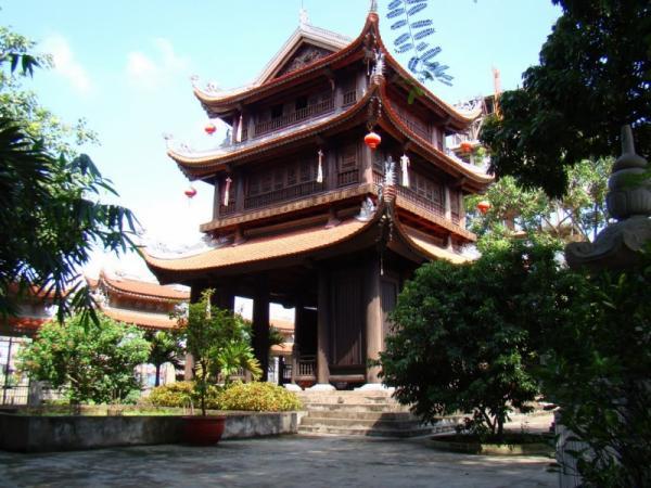 Toàn cảnh ngôi chùa Keo. (Ảnh: toplist.vn)