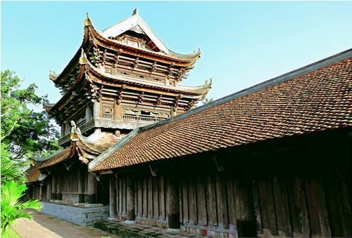 Những nét kiến trúc độc đáo của ngôi chùa. (Ảnh: vamvo.com)