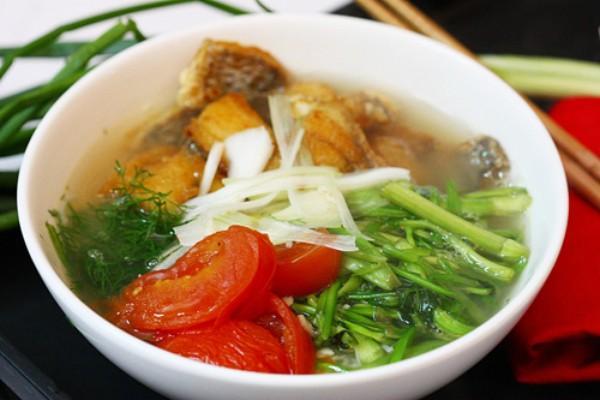 Món ăn nhìn tưởng đơn giản nhưng thực chất đòi hỏi sự khéo léo của đầu bếp. (Nguồn: dantri.com.vn)