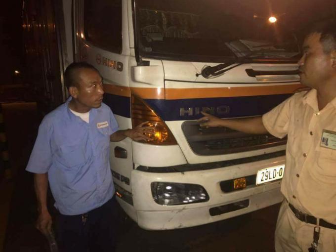 Lái xe Nguyễn Trọng Hưng sau khi gây tai nạn đã bỏ chạy ra đến Hải Phòng và bị bắt giữ.