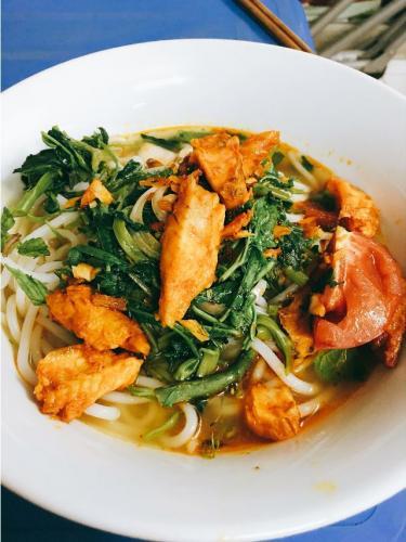 Một bát bún cá thơm ngon chuẩn vị Thái Bình... (Nguồn:  @ngocanhh184)