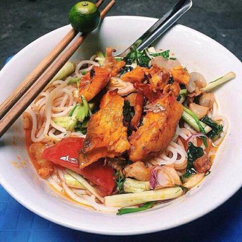 BÚn cá là một trong những món ăn nổi tiếng ở vùng đất Thái Bình. (Nguồn: @baoduong24)