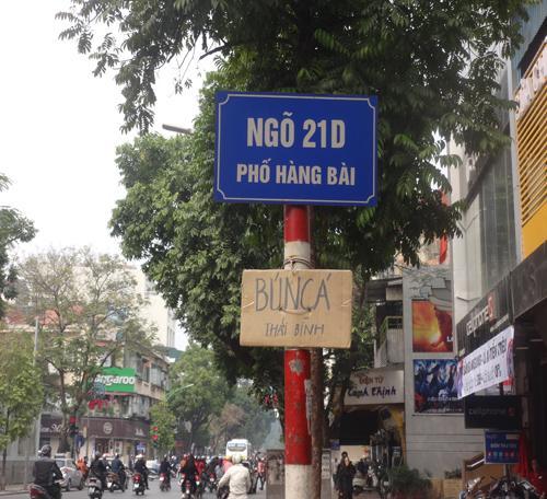 Nay bún cá Thái Bình đã có mặt tại Hà Nội. (Nguồn: Tuyết Mai)