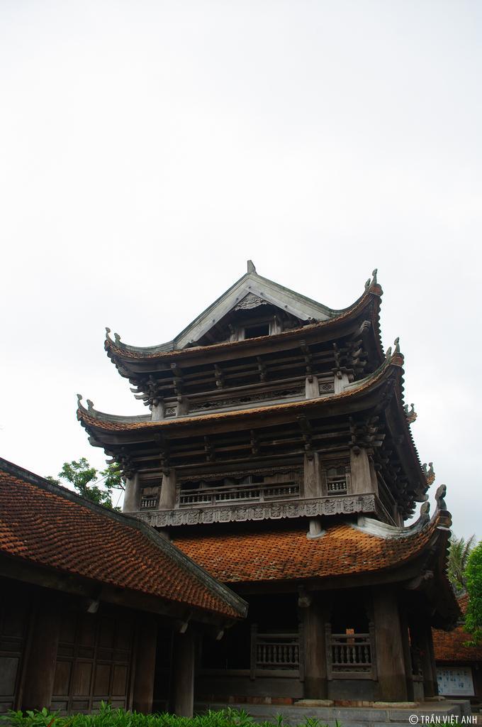 Đây là một trong số ít những ngôi chùa cổ ở Việt Nam còn lưu giữ được hầu như nguyên vẹn kiến trúc xưa. Ảnh: Vnexpress.