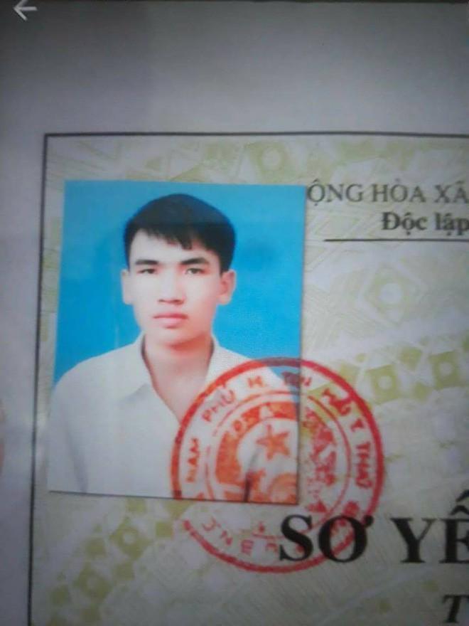 Hình ảnh nam sinh viên Đại học mất tích, gia đình đã cố gắng lên lạc nhưng đều bặt vô âm tín. Ảnh: Facebook