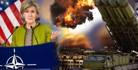 Đại sứ Mỹ tại NATO Kay Bailey Hutchison đe dọa xóa sổ tên lửa Nga