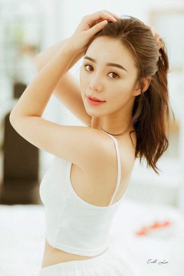 Nhan sắc xinh đẹp của Quỳnh Kool ở đời thường.