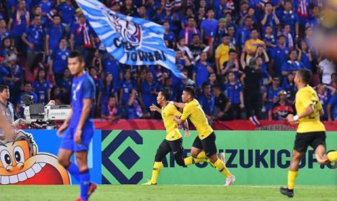 Malaysia đã cống hiến một màn rượt đuổi tỉ số ngoạn mục