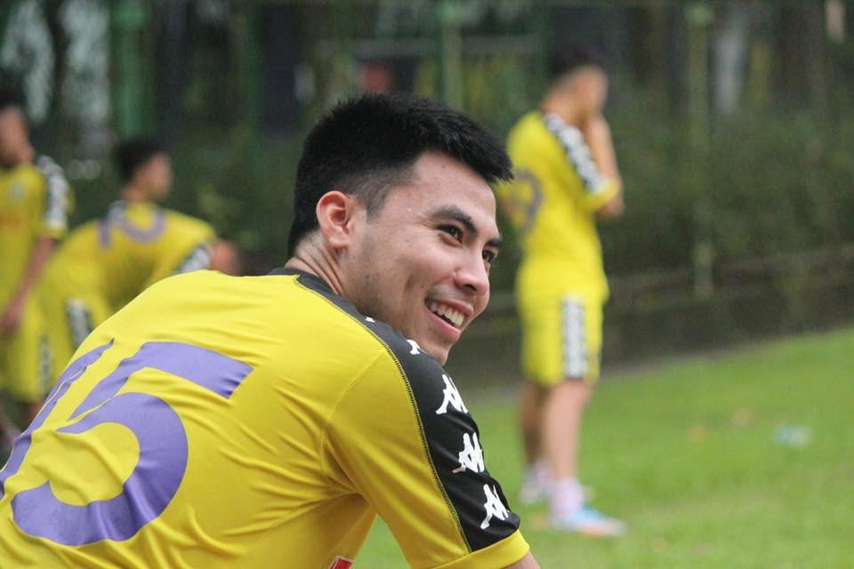 Cầu thủ Đức Huy từng là học sinh giỏi Toán cấp huyện. Ảnh: FBNV.