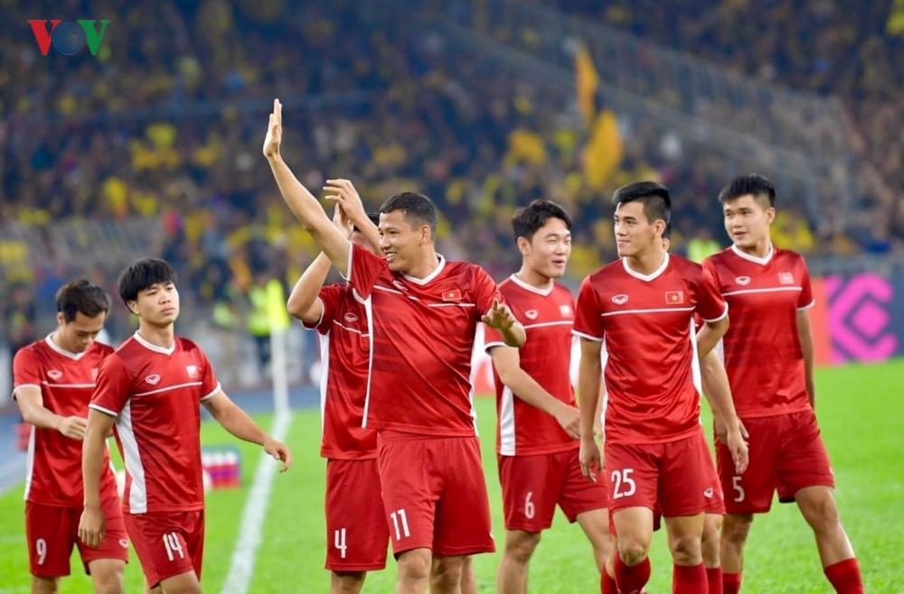 Đội tuyển Việt Nam bắt đầu World Cup 2022 và Vòng loại Asian Cup 2023 từ vòng đấu thứ hai. Ảnh: VOV