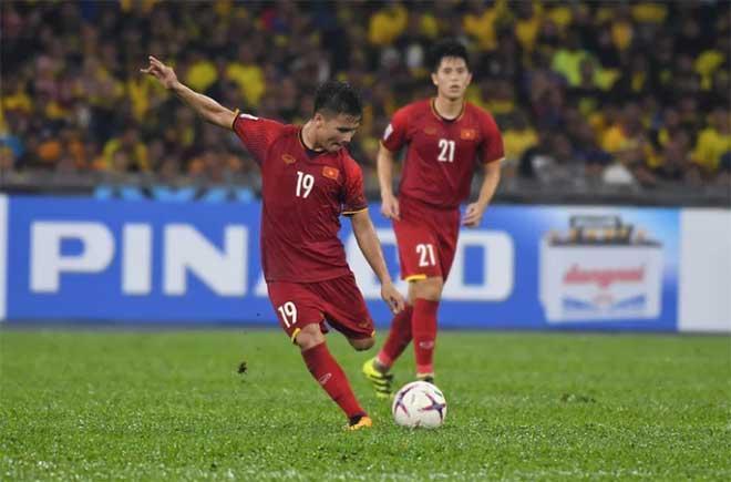 Quang Hải là một trong những cầu thủ chắc chắn sẽ đá chính ở Asian Cup
