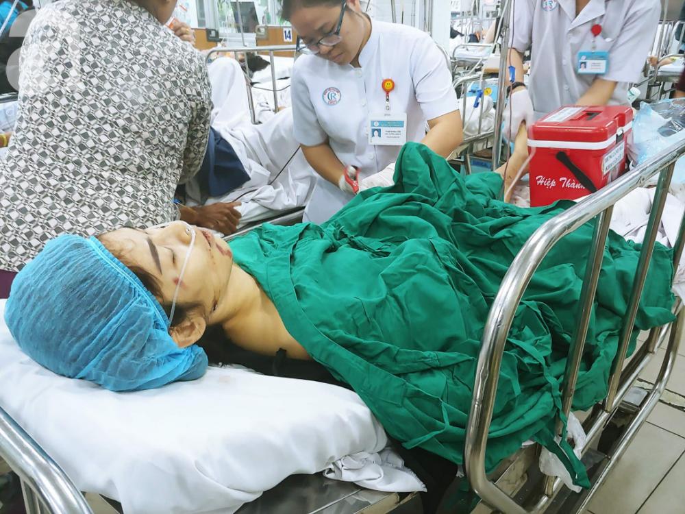 Hiện các nạn nhân vẫn đang được cấp cứu tại Chợ Rẫy, Đa khoa tỉnh Long An.