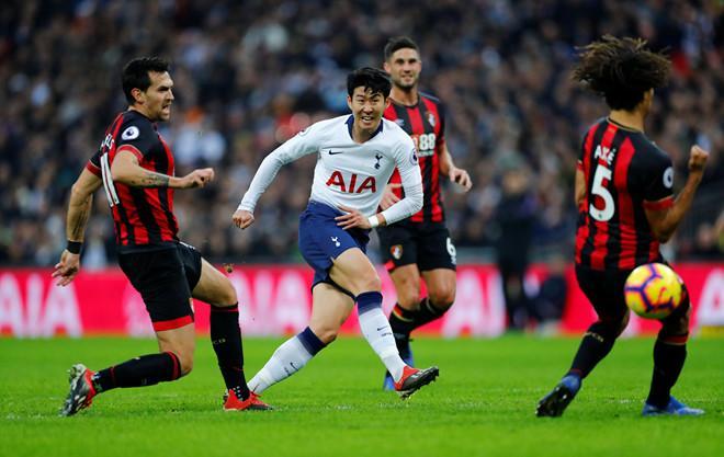 Son Heung-min đang thể hiện phong độ cực cao ở Tottenham.