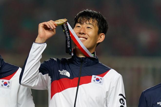 Chức vô địch ASIAD 18 giúp Son Heung-min được miễn nghĩa vụ quân sự.