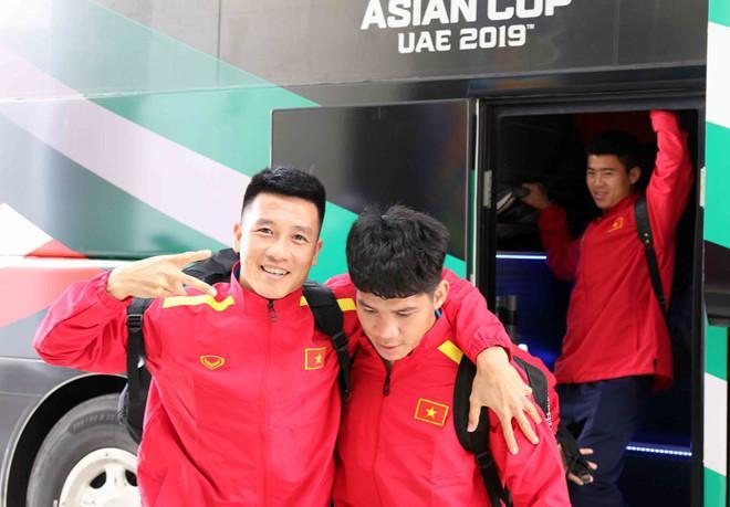 Các cầu thủ tỏ ra khá vui vẻ và phấn chấn sau quá trình chuẩn bị. Việt Nam nằm ở bảng D cùng Iran, Iran và Yemen ở Asian Cup 2019.