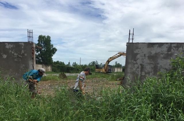 Khu đất hơn 2 ha mà chính quyền huyện Giá Rai thu hồi giao cho Công ty Âu Vững 2.