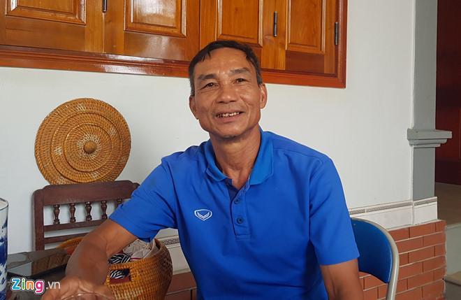 Ông Nguyễn Công Bảy. Ảnh: Phạm Hòa.